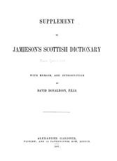 An Etymological Dictionary of the Scottish Language PDF