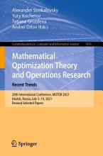 Mathematical Optimization Theory and Operations Research  Recent Trends PDF