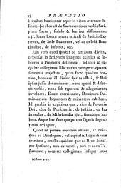 Synopis doctrinae sacrae: seu Insigniora et praecipua ex veteri ac novo Testamento loca quae circa fidei et moralis christianae dogmata versantur