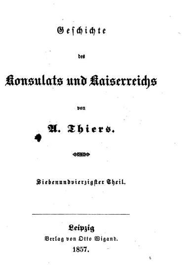 Geschichte des Konsulats und Kaiserreichs PDF