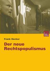 Der neue Rechtspopulismus PDF