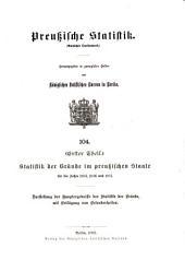 Preussische statistik: Ausgabe 104