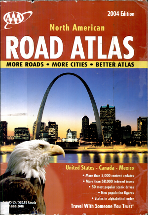 AAA Large Print 2006 Atlas