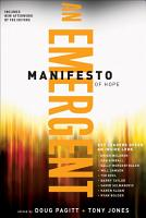 A Emergent Manifesto of Hope    mersion  Emergent Village resources for communities of faith  PDF