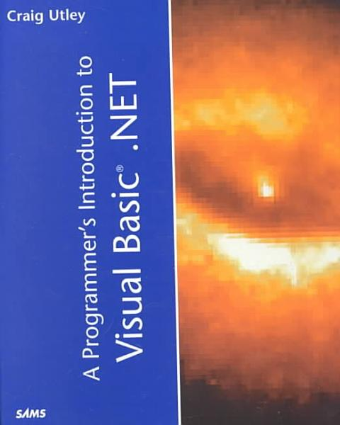 A Programmer s Introduction to Visual Basic  NET PDF