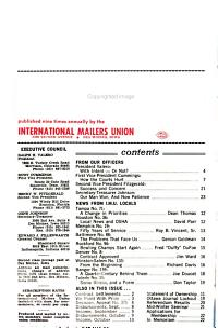 The International Mailer PDF