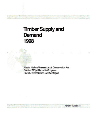 Timber Supply and Demand