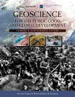 Geoscience for the Public Good and Global Development PDF