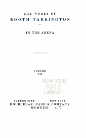 The Works of Booth Tarkington: Volume 7