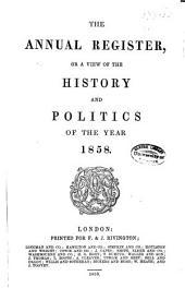 Annual Register: Volume 100