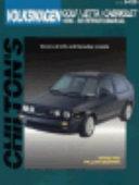 Chilton s VW  Golf Jetta Cabriolet 1990 93 Repair Manual