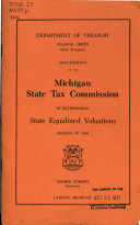 Download Proceedings of the Michigan State Tax Commission in Determining State Equalized Valuations Book