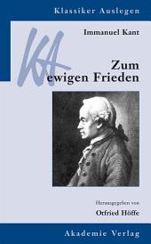 Immanuel Kant: Zum ewigen Frieden: Ausgabe 3