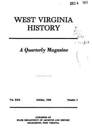 West Virginia History PDF
