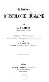 Éléments d'histologie humaine