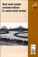Soil and Water Conservation in Semi arid Areas PDF