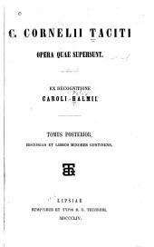 Opera quae supersunt: Volume 2