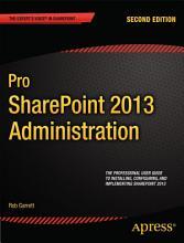 Pro SharePoint 2013 Administration PDF