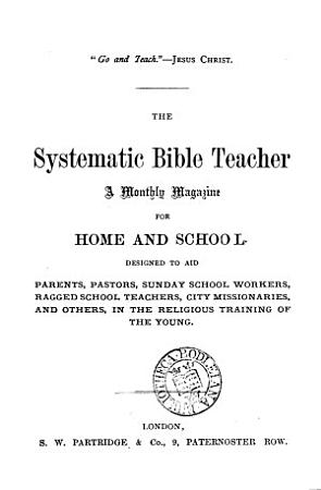 The Systematic Bible teacher PDF