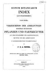 Iconum botanicarum index locupletissimus: Band 2