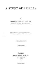 A Study of Spinoza PDF