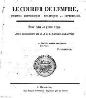 Le courier de l Empire PDF