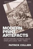 Modern Print Artefacts PDF