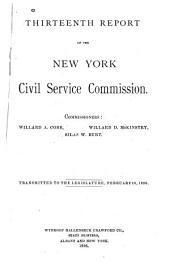 New York State Service: Volume 13
