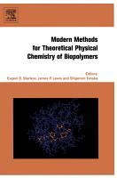 Modern Methods for Theoretical Physical Chemistry of Biopolymers PDF