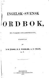 Engelsk-svensk ordbok, med Walkers uttalsbeteckning