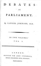 Debates in Parliament: Volume 12