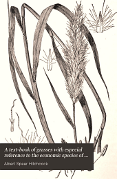 A Text-book of Grasses: With Especial Reference to the Economic Species of the United States
