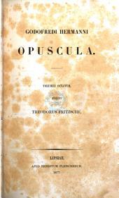 Godofredi Hermanni Opuscula..