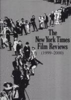 The New York Times Film Reviews 1999 2000 PDF