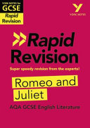 York Notes for AQA GCSE (9-1) Rapid Revision: Romeo and Juliet - Refresh, Revise and Catch Up!