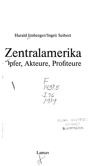 Zentralamerika PDF