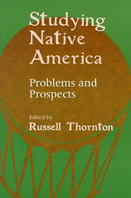 Studying Native America PDF