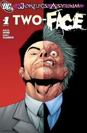 Joker's Asylum: Two-Face #1