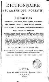 Dictionnaire geographique portatif...