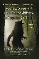 Werewolves and Other Shapeshifters in Popular Culture PDF