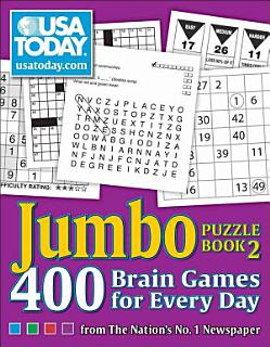 USA TODAY Jumbo Puzzle Book 2 Book