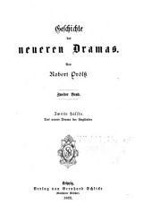 Geschichte des neueren dramas: bd., 1. hälfte. Das neuere drama in Frankreich