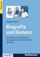 Biografie und Demenz PDF