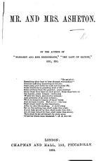 Mr  and Mrs  Asheton  By the author of    Margaret and her Bridesmaids     etc  i e  Julia Cecilia Stretton PDF