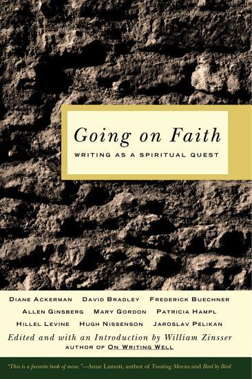 Going on Faith PDF