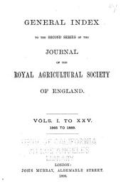 Journal of the Royal Agricultural Society of England: Volumes 26-50