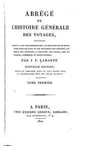 Abrégé de l'histoire générale des voyages: Volume1
