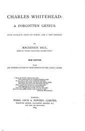 Charles Whitehead: A Forgotten Genius