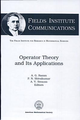 Operator Theory and Its Applications PDF
