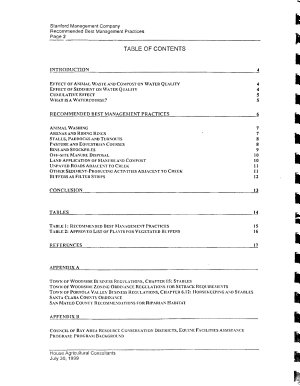 Authorization for Incidental Take and Implementation of the Stanford University Habitat Conservation Plan